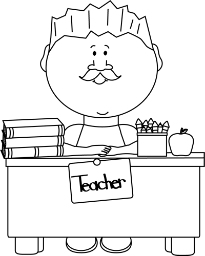 Clip Art Teacher Clipart Black And White teacher clip art images black and white male teacher