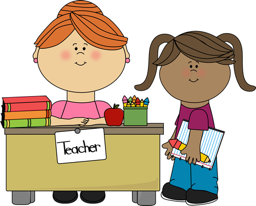 student at teachers desk clip art student at teachers