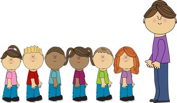 Image result for children lining up clipart