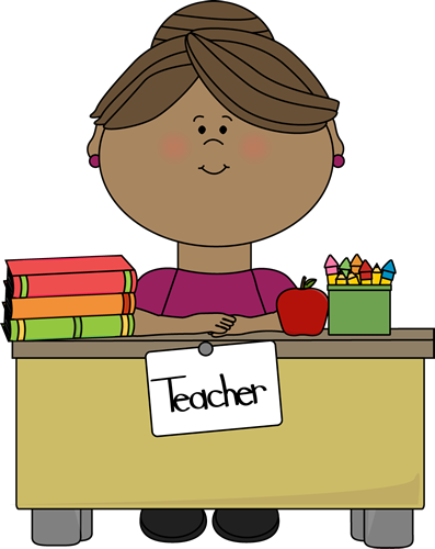 Clip Art Teachers Clipart teacher clip art images at a desk