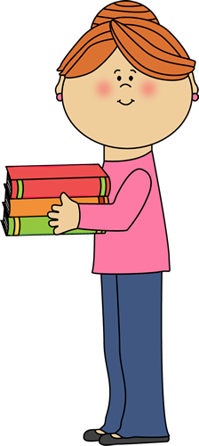 Teacher Holding Books