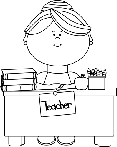 teacher clip art teacher images rh mycutegraphics com free printable black and white clipart for teachers free black and white clipart for school