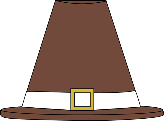 Brown Pilgrim Hat