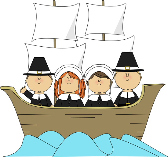Pilgrims on the Mayflower