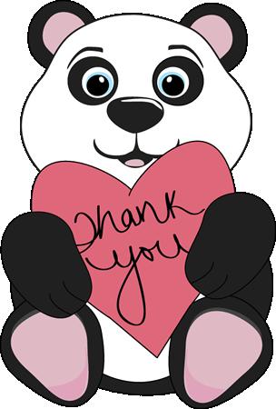 Panda Bear Thank You