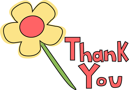 Clip Art Thanks Clip Art thank you clip art images flower