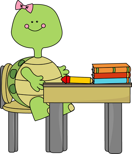 Turtle in School