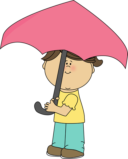Little Girl with an Umbrella