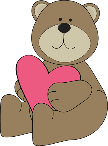 Clip Art Clipart Valentines Day valentines day clip art images fairy brown bear hugging a heart