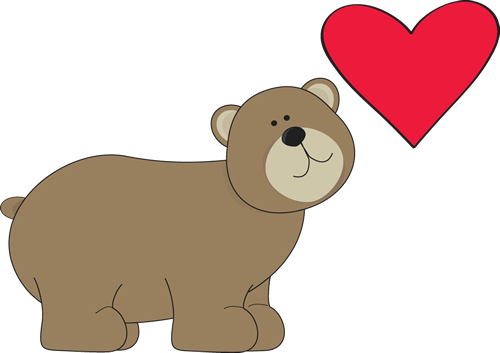 Brown Bear with Red Heart