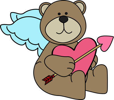 Bear Cupid Clip Art