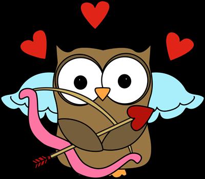 Owl Cupid Clip Art