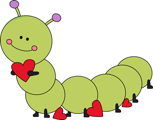 Cute Valentineu0027s Day Caterpillar