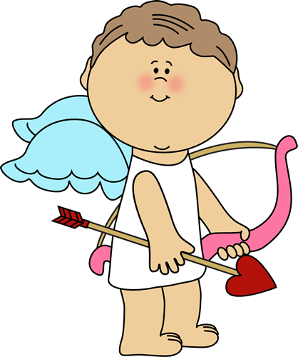 Cute Valentine's Day Cupid