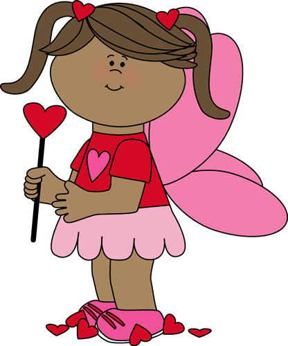 Cute Valentineu0027s Day Fairy