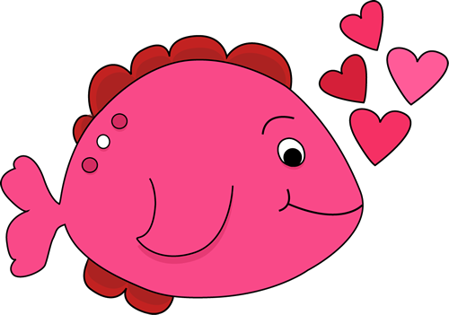 Cute Valentine's Day Fish