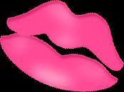Pink Valentine Lips