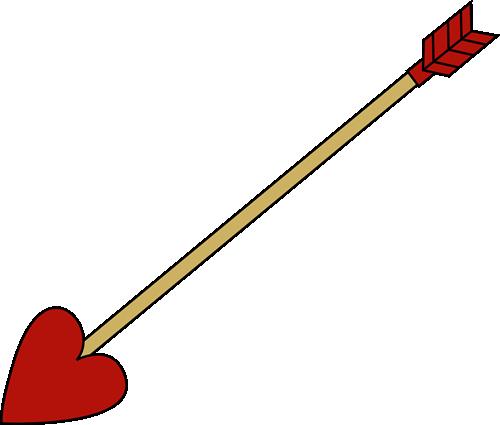 Valentine's Day Arrow
