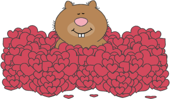 Valentine's Day Beaver
