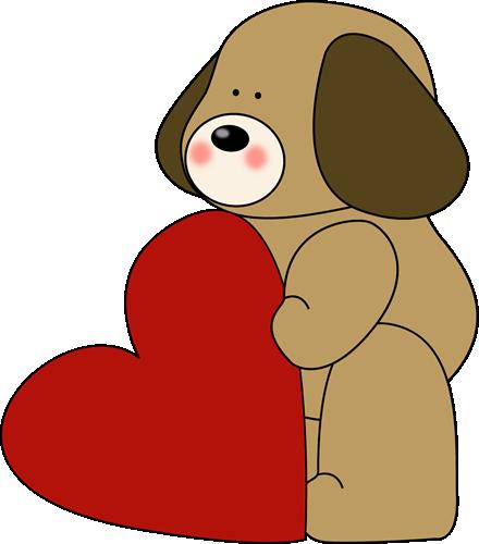 valentine puppy clipart - photo #5