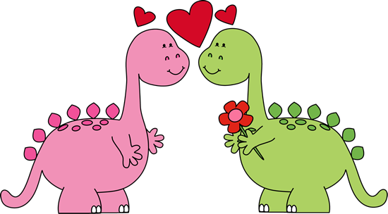 Clip Art Clip Art Valentines Day valentines day clip art images dinosaurs in love art