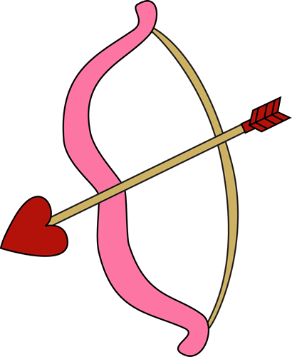 Valentine's Day Bow and Arrow