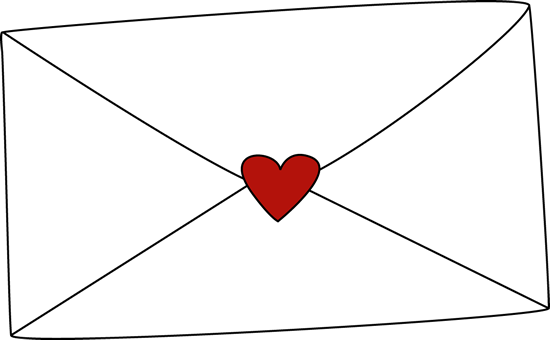 Valentine's Day Envelope