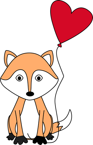 Valentine's Day Fox