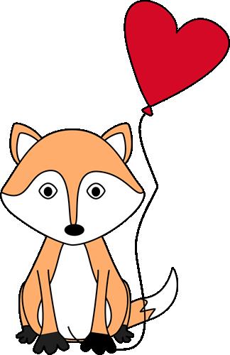 Valentine's Day Fox