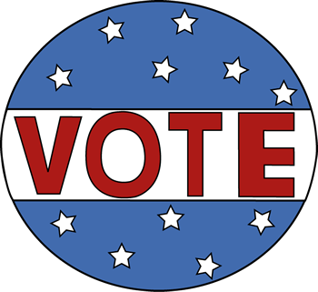 Vote Button Clip Art - Vote Button Image