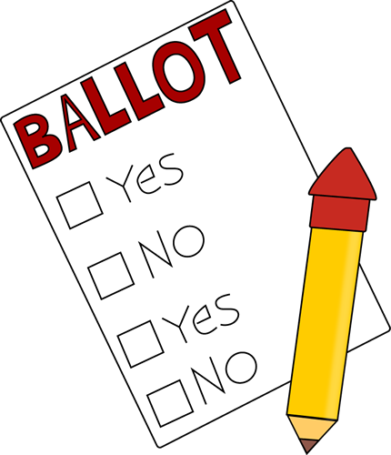 Ballot and Pencil