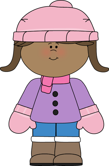 Little Girl Dressed for Winter