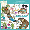 Scuba Kids Whimsy Clips